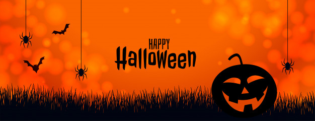 orange-halloween-banner-with-pumpkin-spider-bats_1017-21309