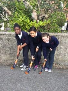 Hockey with Deirdre and Denise (Athlone Hockey Club)