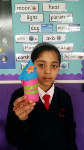 Aima and her Rocket - Artist of the Week
