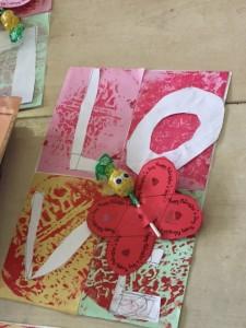 Our Valentine's Day Art