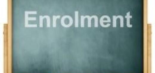 enrolment blackboard